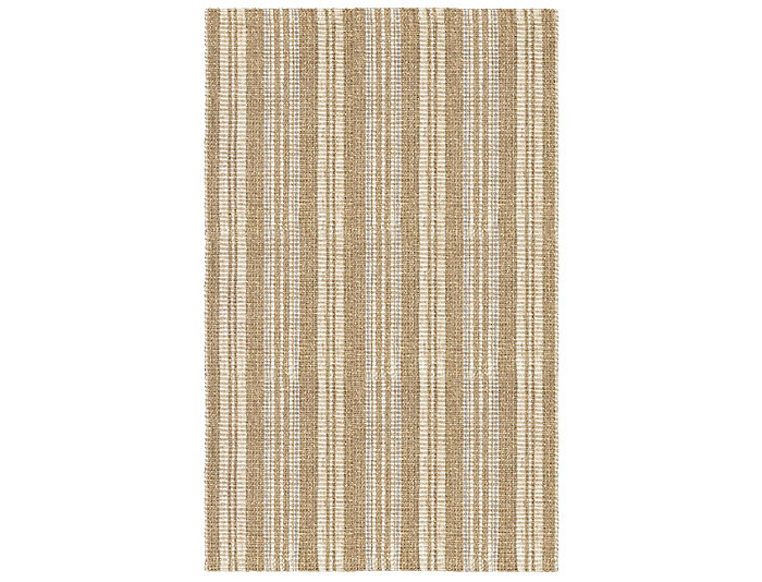 Seagrass Ivory Stripe  2x3 Rug, , large