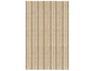 Seagrass Ivory Stripe 5x8 Rug, , large