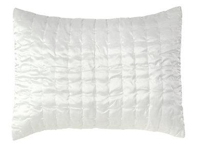 Aura Ivory Standard Sham 20x26, , large