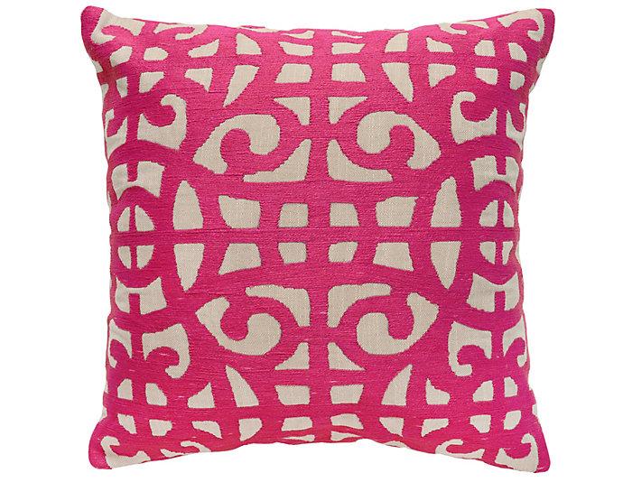 Selena Fuchsia 22x22 Pillow, , large