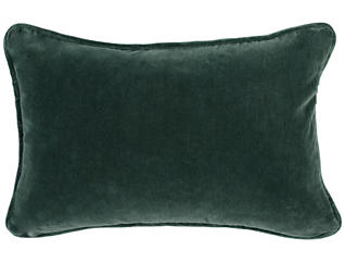 "Polish Abby Navy and Emerald 14"" x 20"" Pillow, , large"