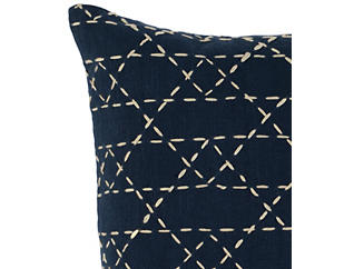 "Opal Navy 18"" x 18"" Pillow, , large"