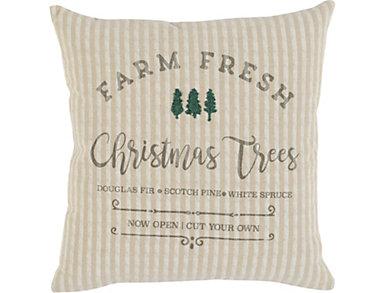 Farm Fresh Natural Pillow, , large