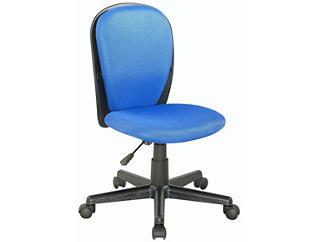 Bryson Blue Mesh Desk Chair, , large