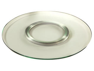 Clear Lazy Susan Tray, , large