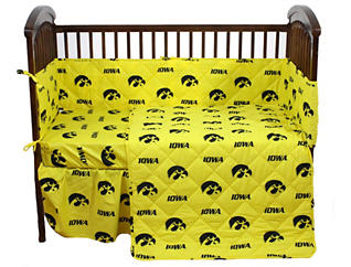 Iowa Hawkeyes 5pc Crib Set, , large