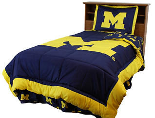 Wolverines Full 3 Piece Set, , large