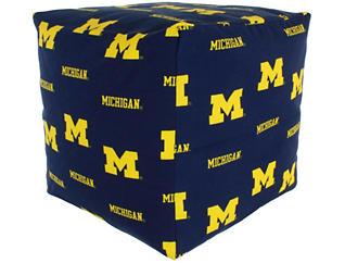 Wolverines Cube Cushion, , large