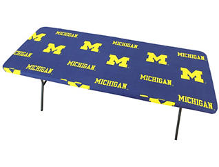 Wolverines 6  Table Cover, , large