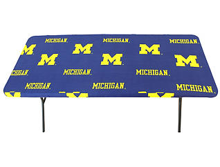 Wolverines 8  Table Cover, , large