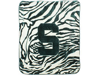 Spartans Zebra Blanket, , large