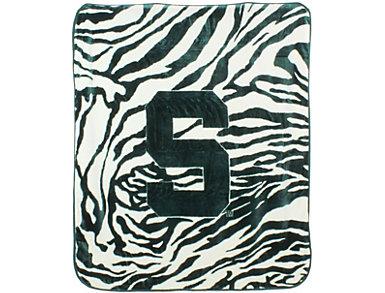 Spartans Zebra Blanket, , large