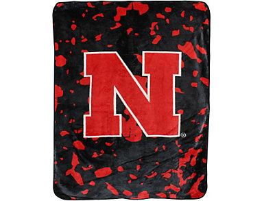 Nebraska Throw Blanket, , large