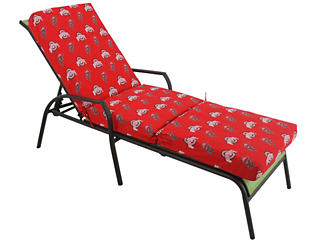 Ohio State 3pc Chaise Cushion, , large