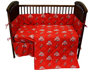 Ohio State 5pc Crib Set, , large