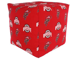 Ohio State Cube Cushion, , large
