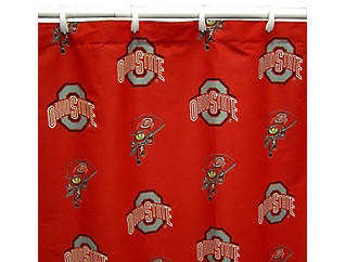 Ohio State Shower Curtain, , large