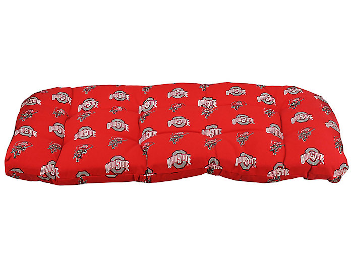 Ohio State Loveseat Cushion Large