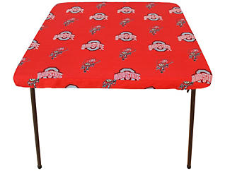 Ohio State Card Table Cover, , large