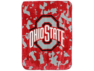 Ohio State Throw Blanket, , large