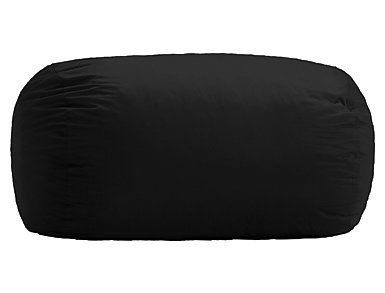 6  Media Lounger - Black, , large