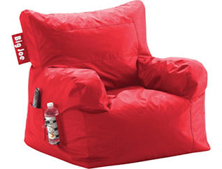 Big Joe Dorm Chair - Red, , large