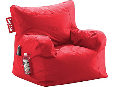 Big Joe Dorm Chair   Red