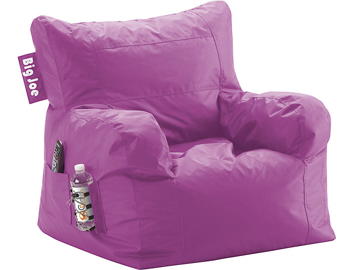 Big Joe Dorm Chair - Orchid, , large