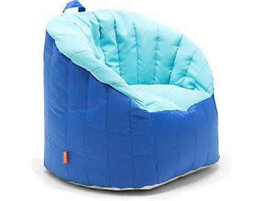 Bay Aqua Pool Bean Bag Chair, , large