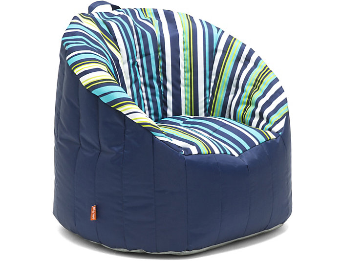 Awesome Bay Stripe Pool Bean Bag Chair Caraccident5 Cool Chair Designs And Ideas Caraccident5Info