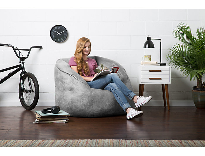 Prime Big Joe Milano Bean Bag Chair Art Van Home Short Links Chair Design For Home Short Linksinfo