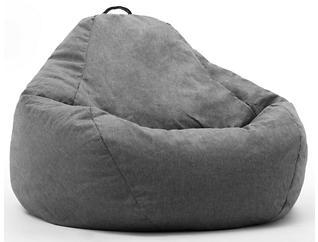 Big Joe Union Bean Bag, Grey, , large