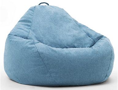 Big Joe Union Bean Bag, Blue, large