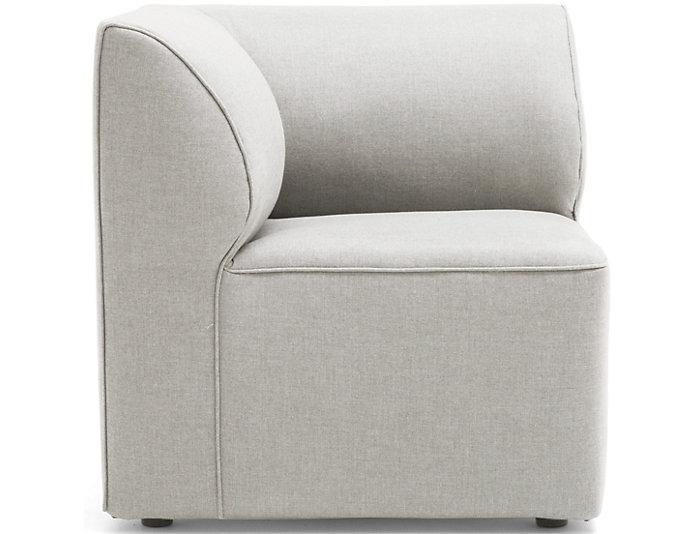 Charmant ... Fulton Beige Corner Chair, , Large ...