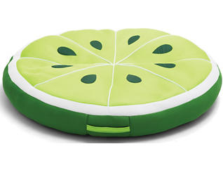 Lime Slice Pool Float, , large