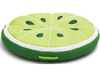 Lime Slice Pool Float, , large
