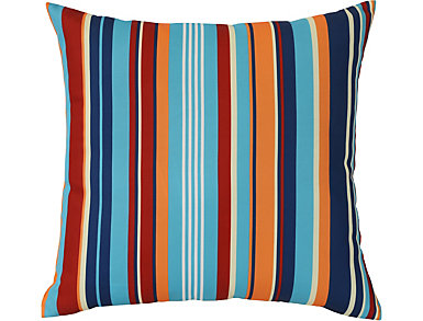 "Stripes I/O 18"" Sq Pillow, , large"