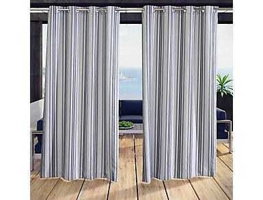 """Gazebo Stripe Black 50""""X 108"""", , large"""