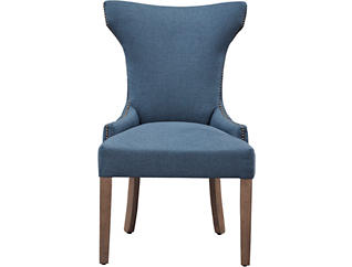 Turbo Navy Parsons Chair, , large