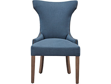 Parsons Chair - Tufted Navy, , large