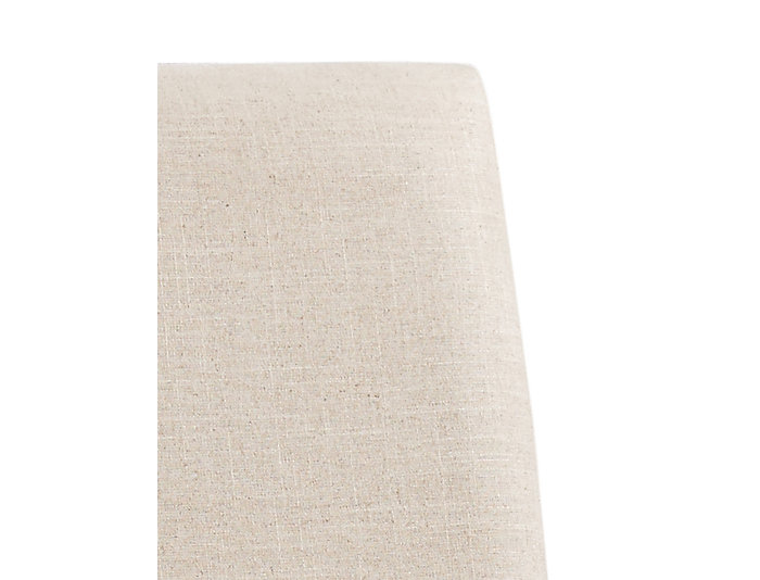 Linen Duck Upholstered Parsons, , large