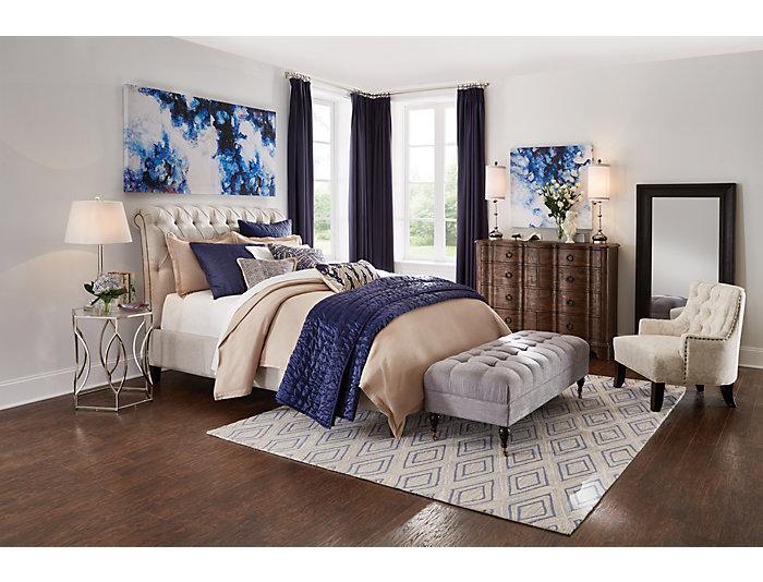 Nobletex King Bed, , large