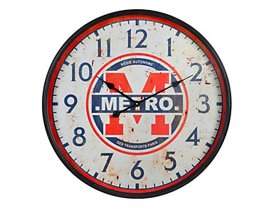 Metro Wall Clock, , large
