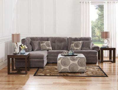 Albany Slate Sofa Chaise Art Van Furniture
