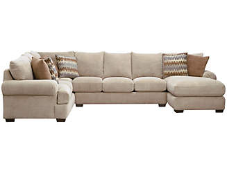 Beautiful Jasper 3 Piece Sectional