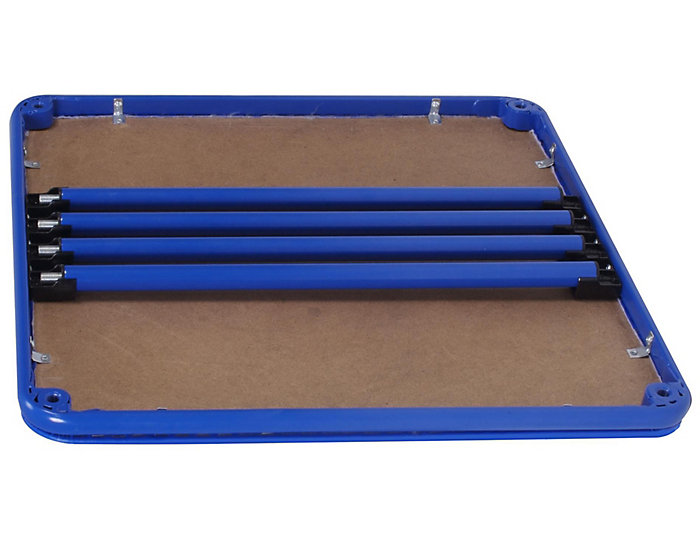 Kids Blue Vinyl Top Table, , large