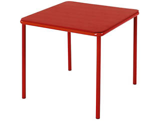 Kids Red Vinyl Top Table, , large
