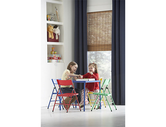 Kid s 5pc Chair and Table Set, , large