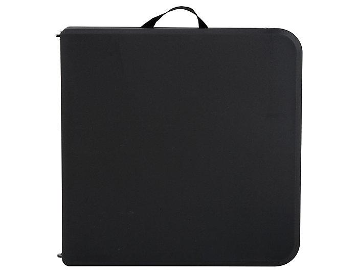 4ft Black Tailgate Table, , large