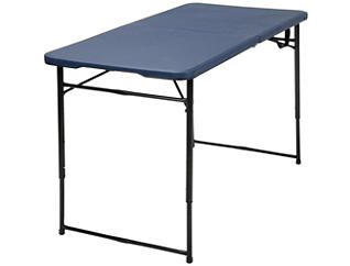 4ft Blue Tailgate Table, , large